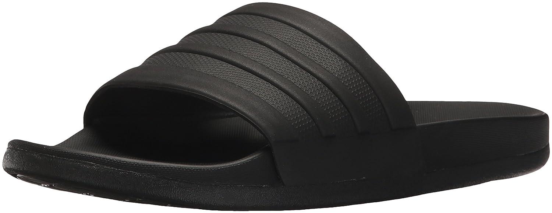 adidas Women's Adilette CF+ Logo W Slide Sandal B07283KSZT 10 B(M) US|Black/Black/Black