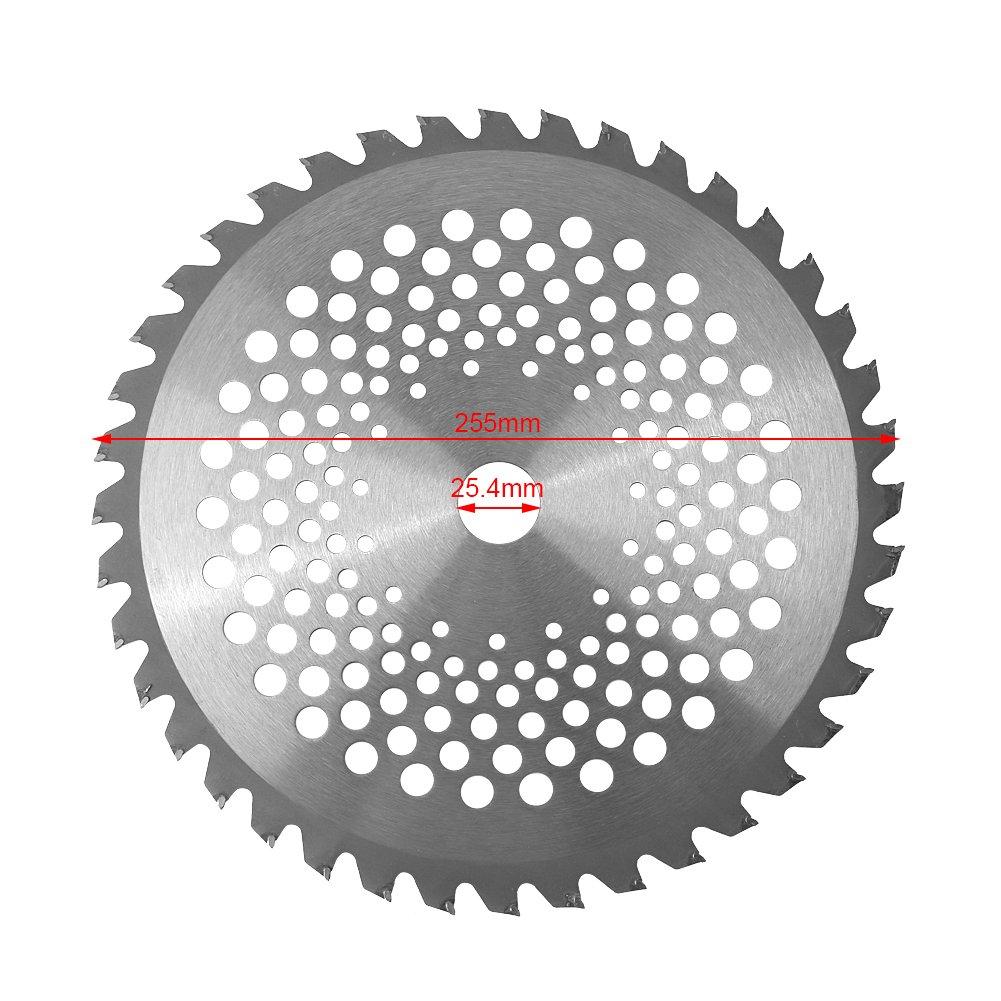 Hoja de desbrozadora, diámetro de agujero de 25.4 mm Hoja de ...