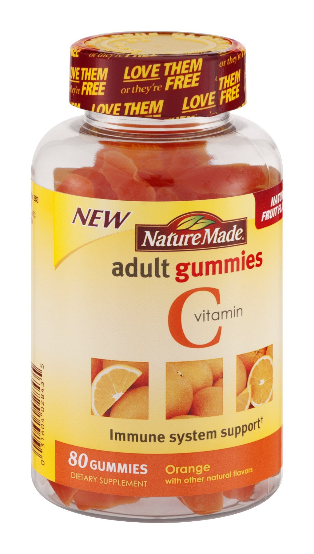 Nature Made Nat Made Orng Vitamin C Adult Gummy 80 Chw, Pack of 9