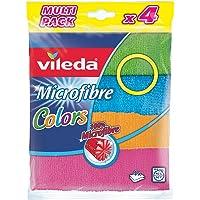 Vileda Colors Mikrofiber Bez 4'lü Paket