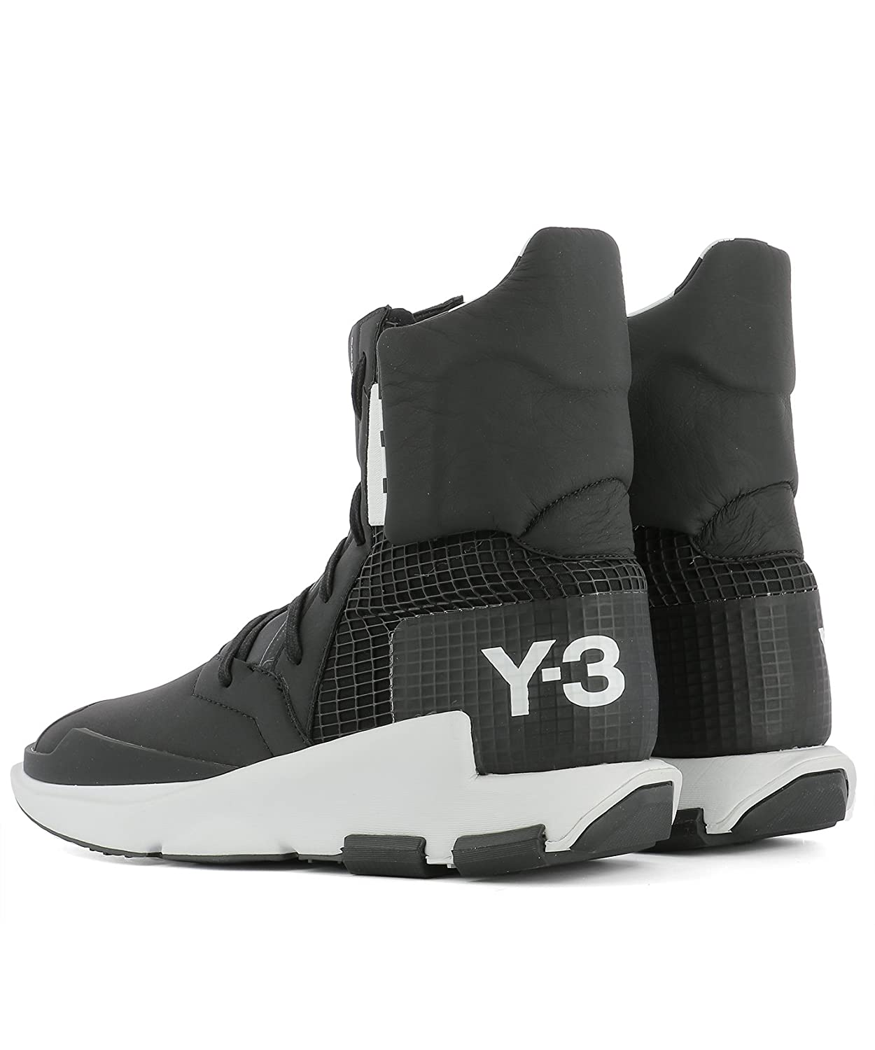 hot sale online 0a19d 3cdad ADIDAS Y-3 YOHJI YAMAMOTO, Stivali Uomo Nero Nero IT - Marke Größe   Amazon.it  Scarpe e borse