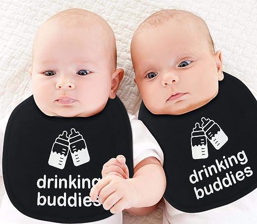 Amazon.com: Baberos para bebé, 100 % algodón suave, unisex ...