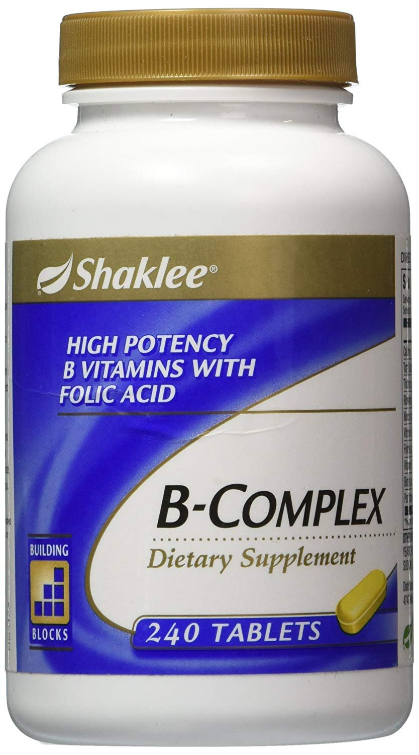 Shaklee B-Complex 240 Tablets