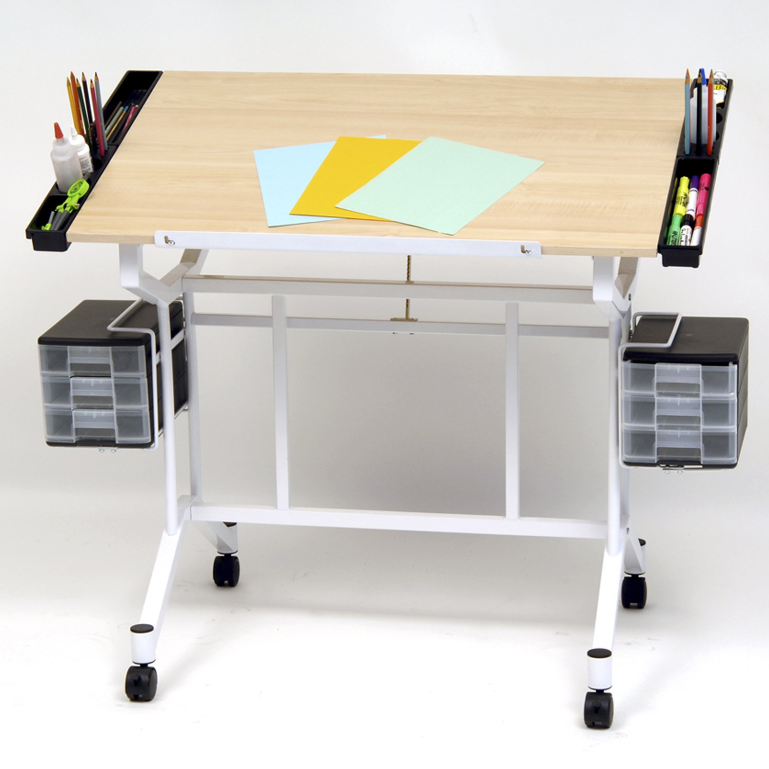 Studio Designs Pro Craft Station (White - Maple)
