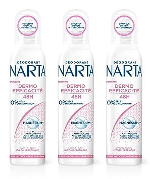 Narta dermo-efficacité 48h Desodorante Spray 150 ml - juego de 3: Amazon.es: Belleza