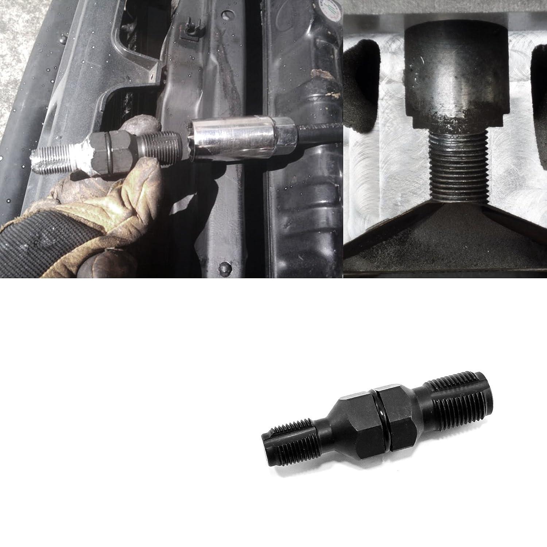 EWK 14//18 mm Spark Plug Hole Thread Chaser Rethreader Rethreading Tool Tap