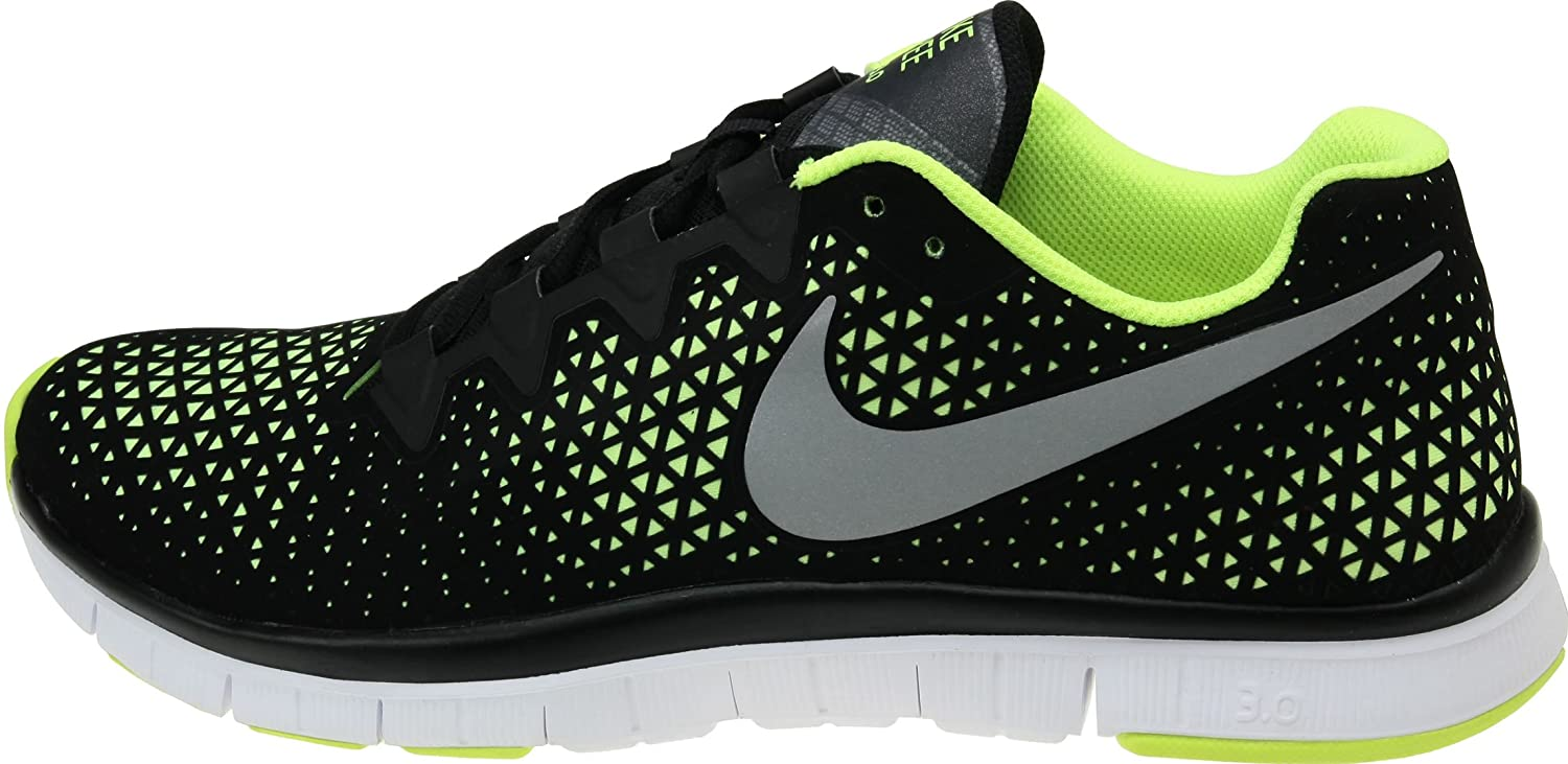 check out 347a8 4b24e Amazon.com | Nike Free Haven 3.0 Black Silver Volt 2012 Mens Training Shoes  511226-007 [US Size 11.5] | Athletic