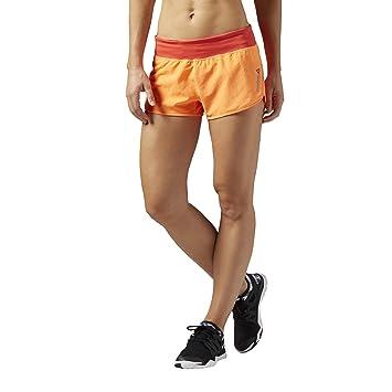 ff3ad9238 Reebok - Pantalones Cortos para Mujer Les Mills W Foundation  Amazon.es   Deportes y aire libre