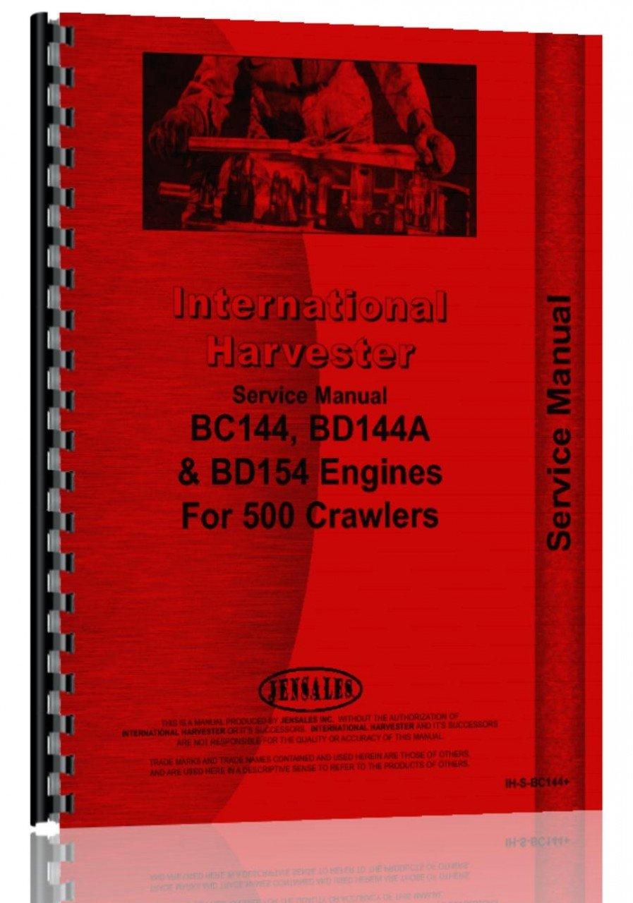 International Harvester Service Manual (IH-S-BC144+): International  Harvester: 6301147704481: Amazon.com: Books