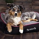 Scruffs Dog Thermal Box Bed, 50cmLength x 60cm, Black