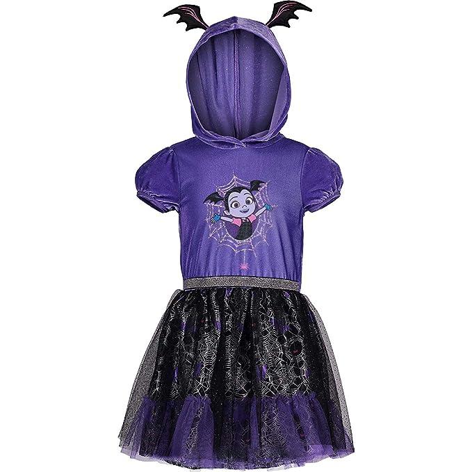 Amazon.com: Disney Vampirina - Disfraz de tutú con capucha ...