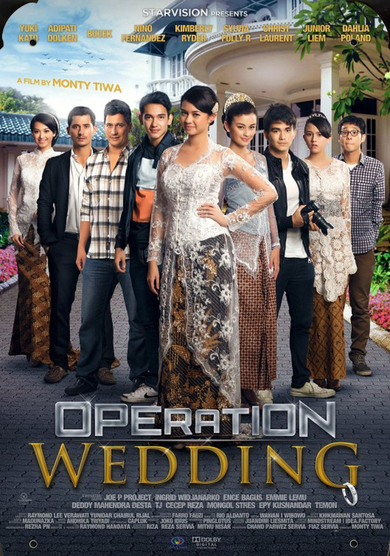 Indonesia Movie Operation Wedding Ver2 pelicula metal poster ...