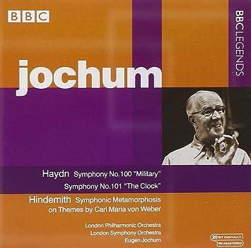 ハイドン:交響曲第100番, 第101番/ヒンデミット:交響的変容(ロンドン・フィル/ロンドン響/ヨッフム)(1973, 1977)