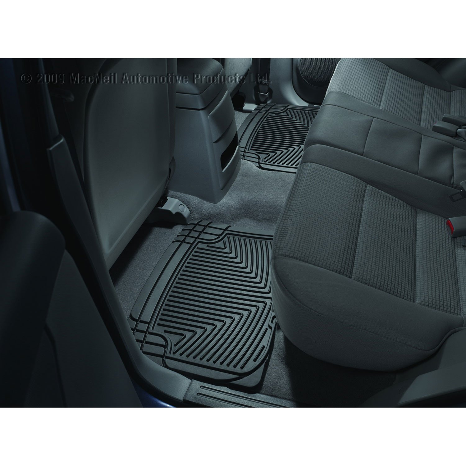 WeatherTechW20 All-Weather Trim to Fit Rear Rubber Mats (Black)