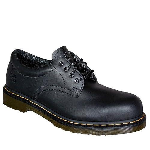 Dr. Martens 2216 13741001 BLACK - SB Calzado de protección de cuero para hombre, color negro, talla 48: Amazon.es: Zapatos y complementos