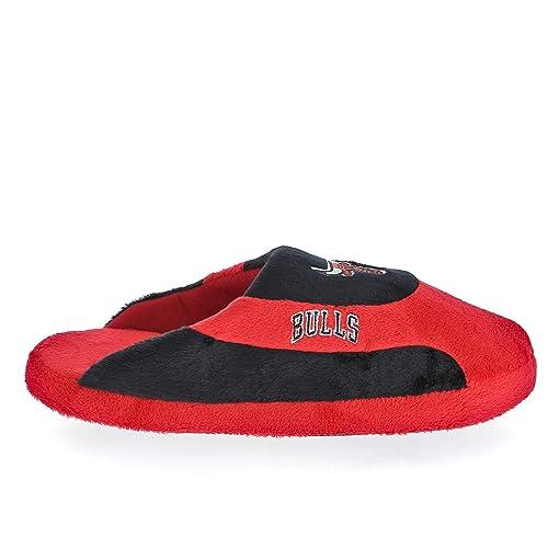 new style bf6bb edd3b Sleeper z - Zapatillas de casa del Equipo de Baloncesto Chicago Bulls NBA  Basketball -