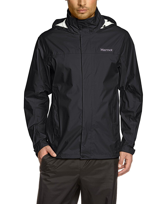 Marmot Men's PreCip  Jacket Black LG