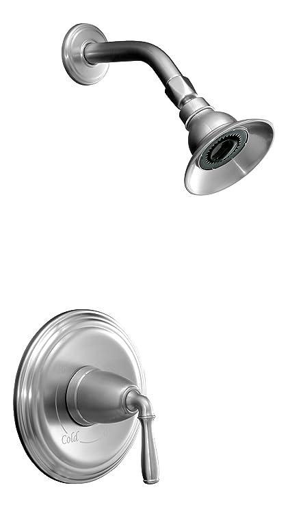 Kohler K T396 4 G Devonshire Rite Temp Pressure Balancing Shower