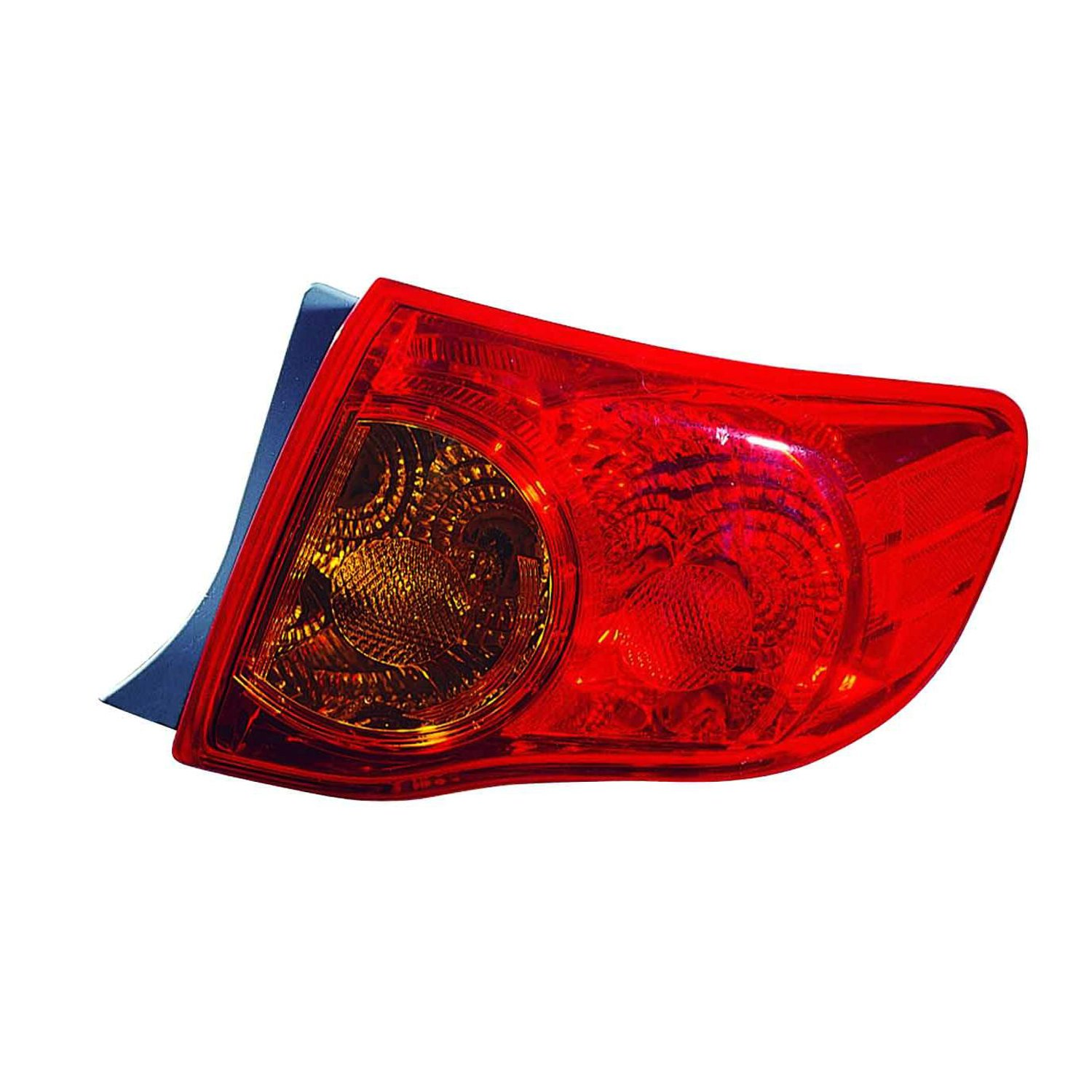 Partslink Number TO2801175 Multiple Manufacturers TO2801175N OE Replacement TOYOTA COROLLA/_SEDAN Tail Light Assembly