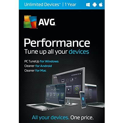 AVG Performance | Unlimited Devices| 1 Year Twister Parent