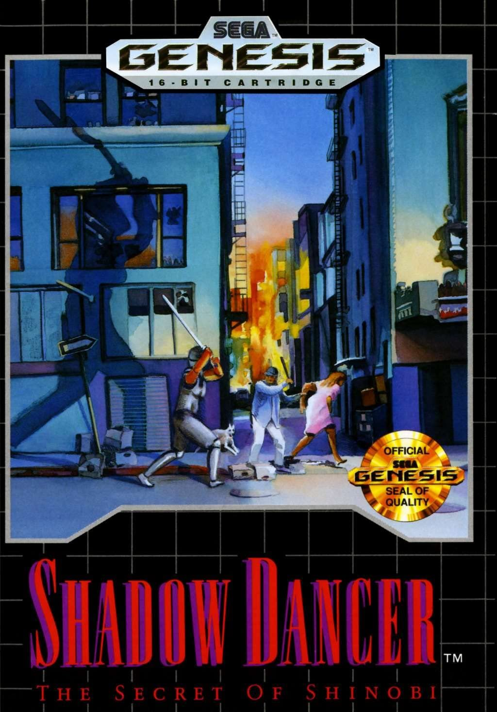 Amazon.com: Shadow Dancer: The Secret Of Shinobi: Sega ...