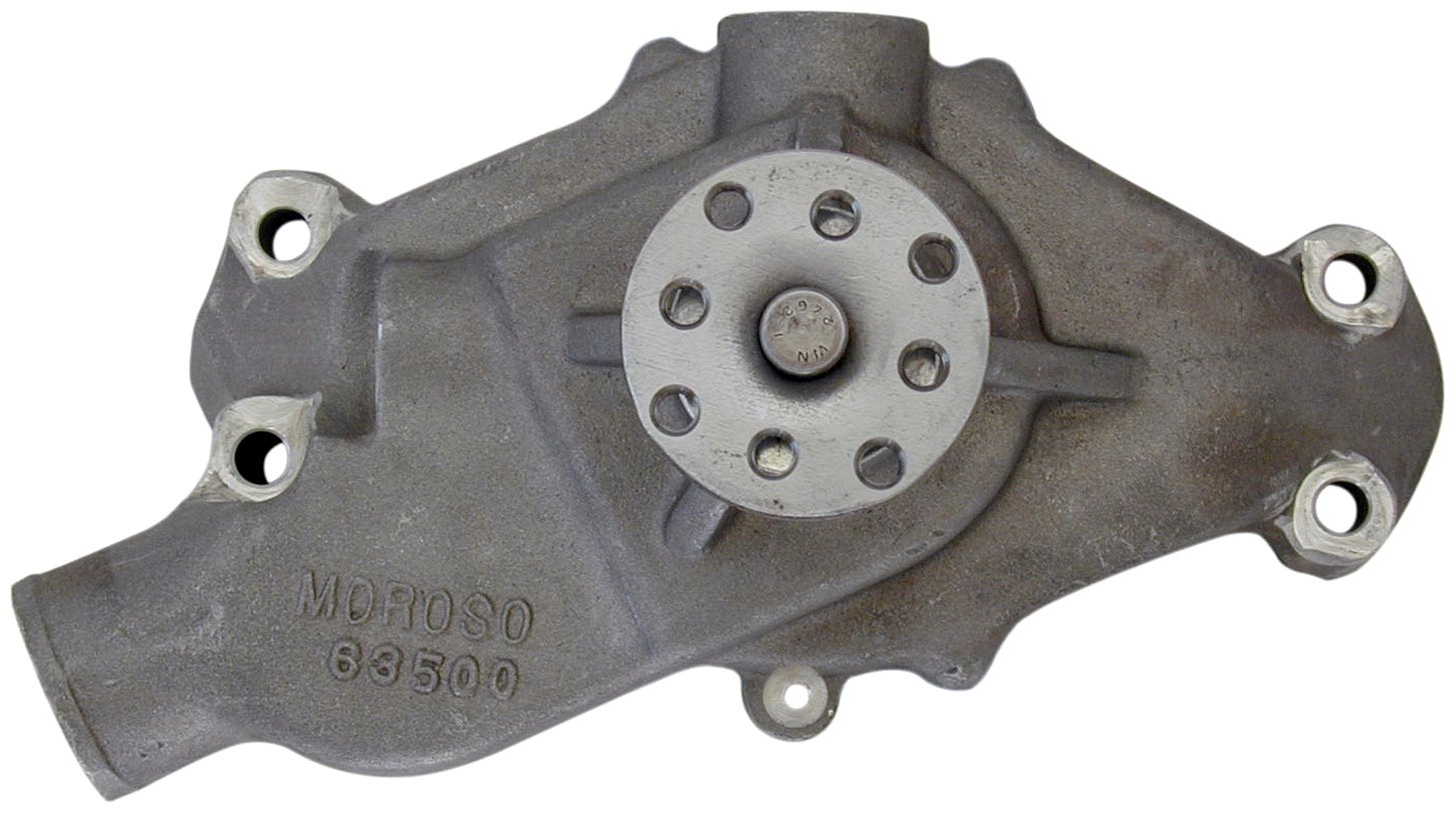Moroso 63500 Cast Aluminum Water Pump for Small Block Chevy by Moroso (Image #1)