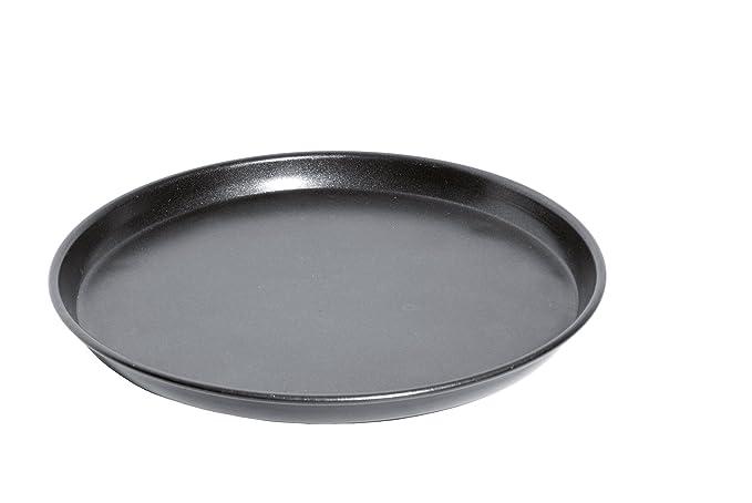 Caso CrispyWave - Bandeja de pizza para microondas, 24 cm