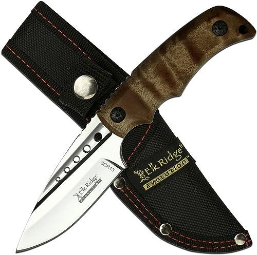 Elk Ridge Evolution Fixed Blade Knife – ERE-FIX022-BW