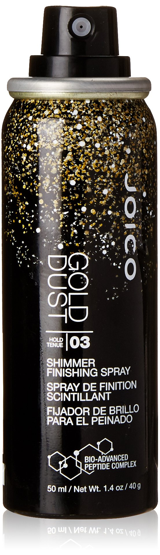 Joico Dust Shimmer Spray, Gold, 1.4 Fluid Ounce
