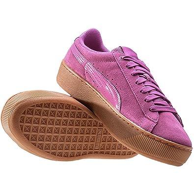 Puma Damen Vikky Platform 363287-04 Sneaker, Pink (Rose Violet-Rose Violet 04), 36 EU