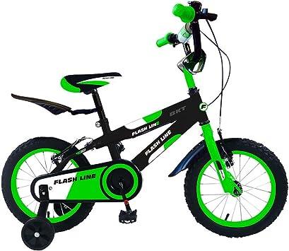 Bicicleta para niños FLASH LINE talla 14 FLA14 para niños de 3 - 6 ...