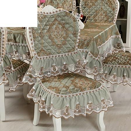 Sala Da Pranzo Sedia Cuscino Tavolino Tovaglia,Tessuto Tondo