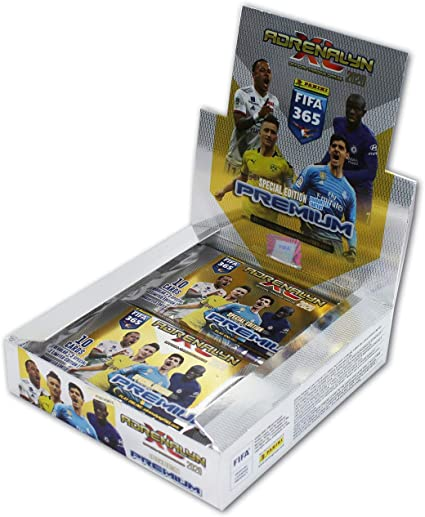 Panini Adrenalyn XL fifa 365 2018 premium 2 X Display//24 Booster