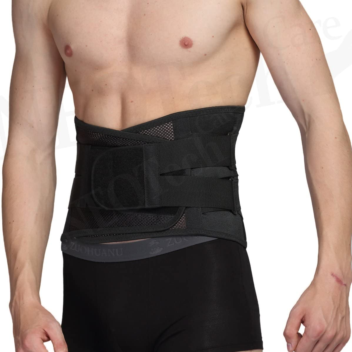 Adjustable Double Pull Lumbar Brace/Lower Back Belt, Pain Relief