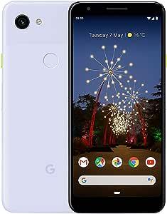 "Google Pixel 3A (2019) G020F 64GB (5.6"" inch, GSM, 4G/LTE, CDMA) Factory Unlocked Smartphone - International Version (Purple-ish)"