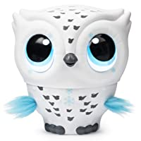 Owleez, Flying Baby Owl Interactive Toy with Lights and Sounds (White), for Kids...