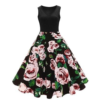bellelove, falda plisada Mujer, mujeres falda plisada, Floral ...