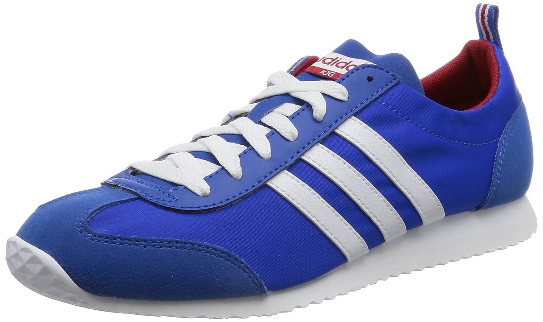Adidas Vs Jog, Zapatillas de Running para Hombre 40 2/3 EU|Azul (Azul / Ftwbla / Rojpot)