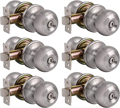 Probrico DL609SN acero inoxidable Cerradura de puerta