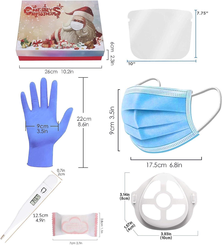 Set di Protezione Xguaofuzhuang Confezione Regalo prevenzione Natalizia