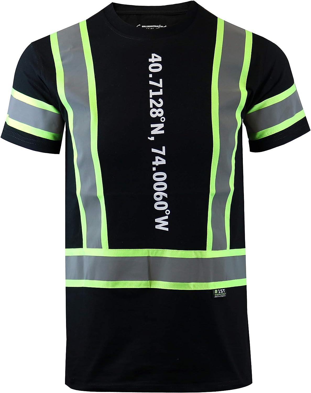 New York Latest Fashion 2 Way Sequins Shirt Screenshotbrand Mens Hipster Hip-Hop Premium Tees