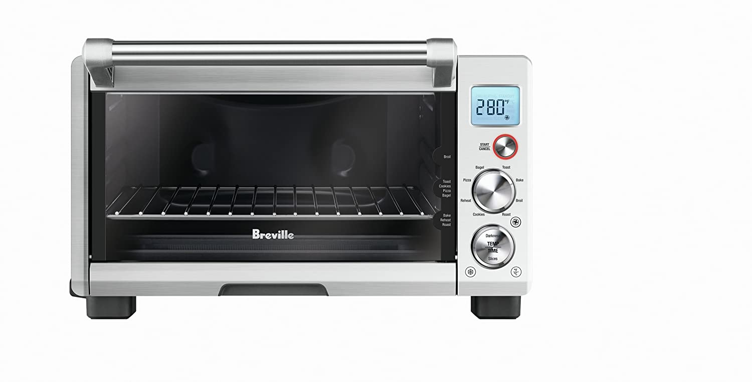 Breville BOV670BSS Smart Oven Compact with Convection, Stainless Steel
