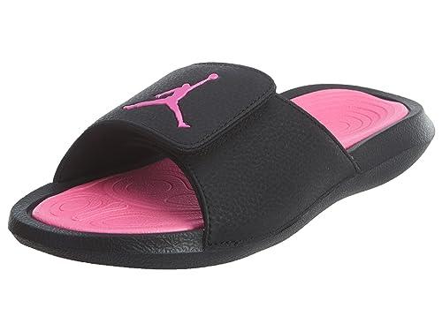 2da413db3e41 Jordan Kids Hydro 6 GG Sandal Black Hyper Pink Size 9  Amazon.co.uk ...