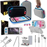 Switch Lite Accessories Bundle, includes: Case & Screen Protectors [Tempered Glass] for Nintendo Switch Lite (2019…