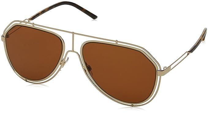 Dolce & Gabbana 0Dg2176 Gafas de sol, Pale Gold, 59 para ...
