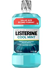 Listerine Cool Mint Antiseptic Mouthwash for Gingivitis and Bad Breath, 1.5L