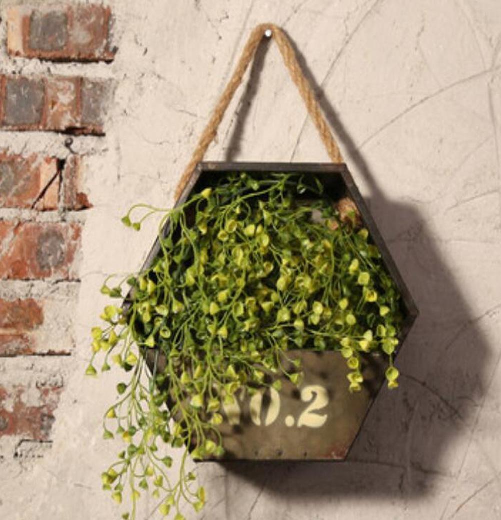 SQL macetas colgantes de pared restaurante retro en las decoraciones de la pared . a SQL Home