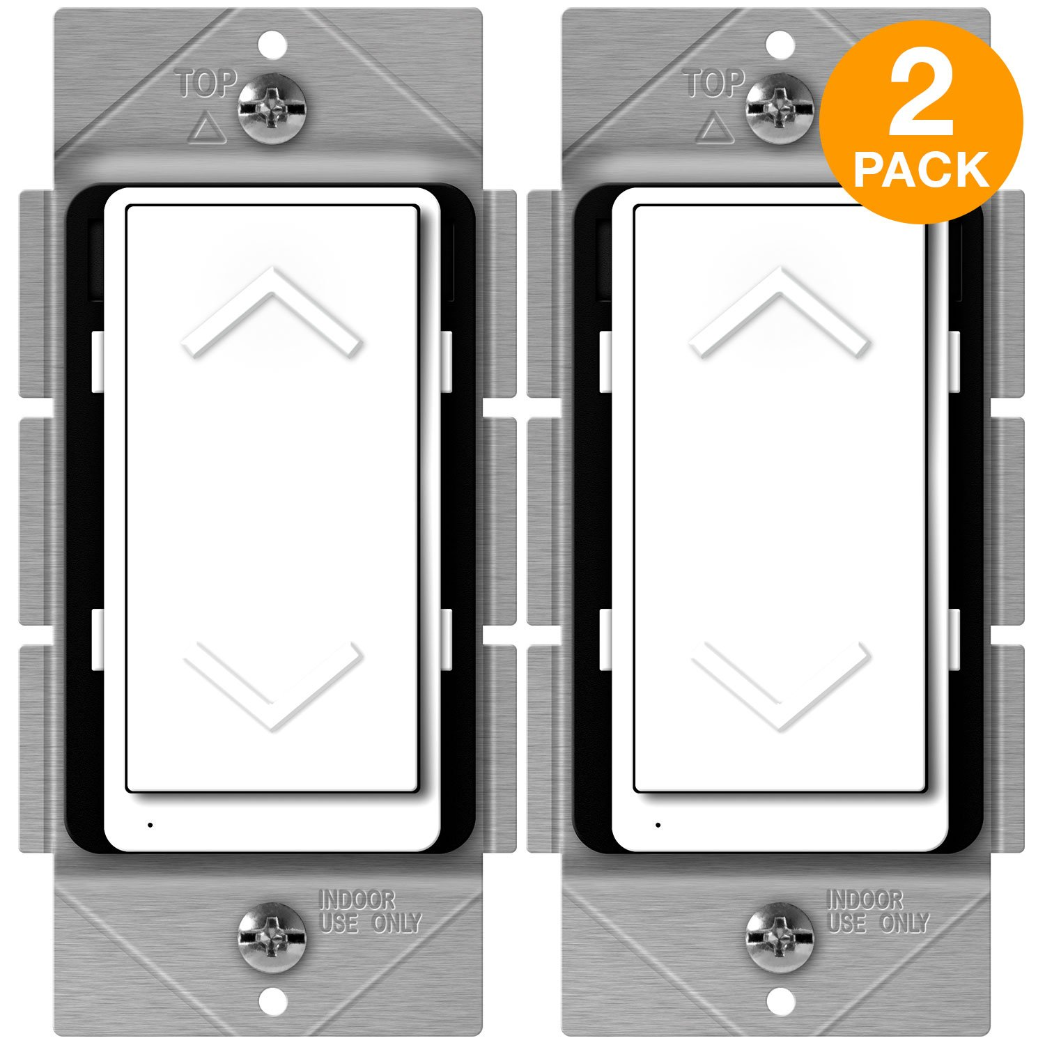 Enerwave Zw500dm Plus Z Wave Dimmer Smart Switch For Lighting Wiring Light With Neutral Zwave Home Automation Meter Energy Monitor Wire