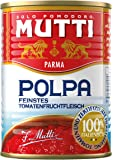 Mutti Polpa Fine - Fruchtfleisch, fein gehackt, 6er Pack (6 x 400 g)