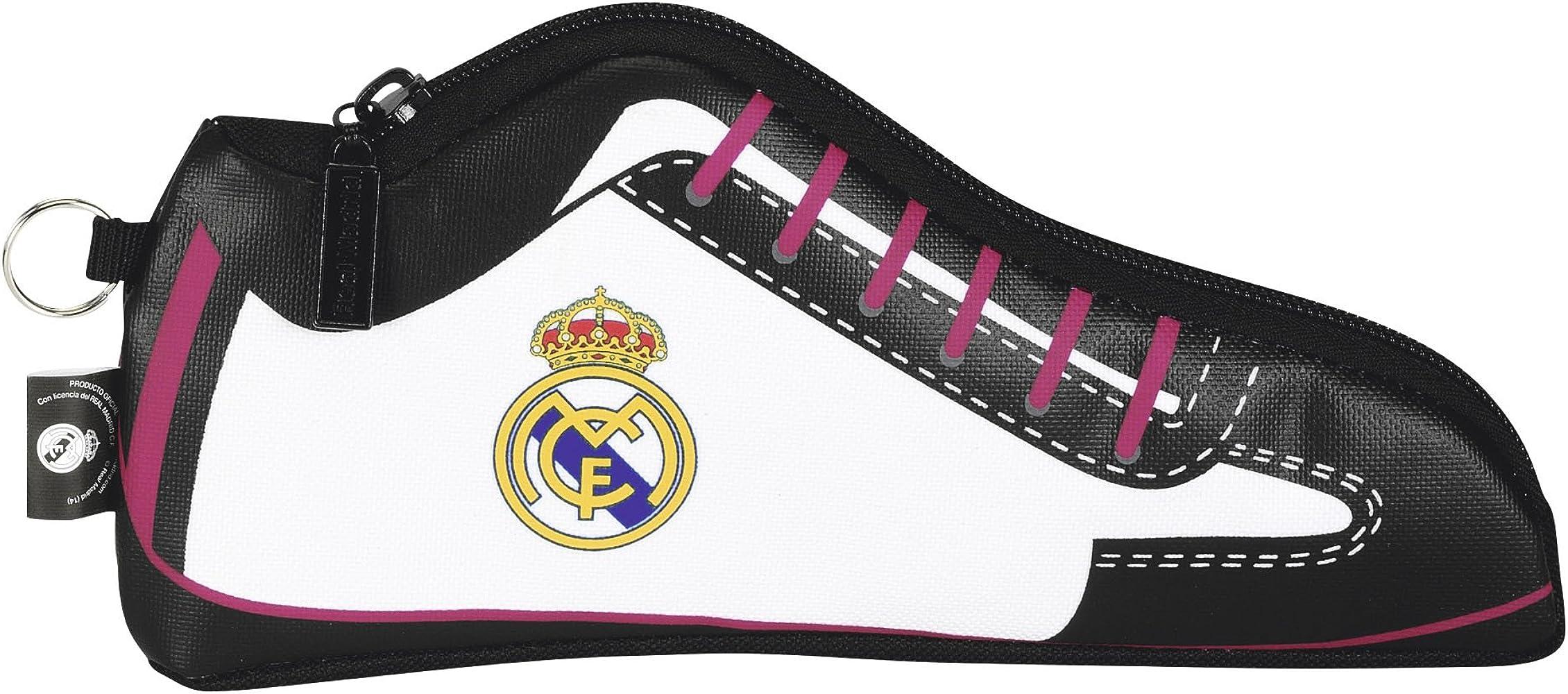 Safta Real Madrid-Estuche portatodo Zapatilla 811457584: Amazon.es: Ropa y accesorios